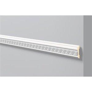 NMC Stuckleisten Profilleiste Wandleisten Arstyl Z31 (80 x 20 mm), Länge 2 m