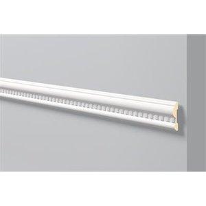 NMC Stuckleisten Profilleiste Wandleisten Arstyl Z32 (80 x 20 mm), Länge 2 m