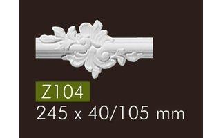 NMC Z104 Zierelement (245 x 105 mm), set (= 2 Stück)