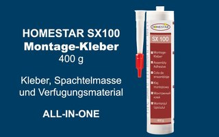 Homestar Kartusche Kleber SX100 (400 g)