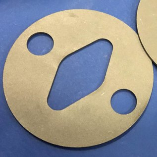 Superabrasive Security plates for Lavina machines