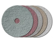 Polishing pads for grinders