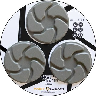 FAST-GRIND FAST-GRIND discs - The fastest, easiest and most durable concrete polishing system on the market.