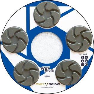 FAST-GRIND FAST-GRIND-skivor - Det snabbaste, enklaste och mest hållbara betongslipnings och -poleringssystemet på marknaden.