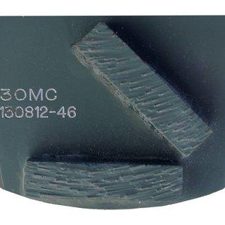 Superabrasive Pièges à deux segments QuickChange