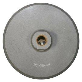 Superabrasive Aluminium schijfhouder klittenband