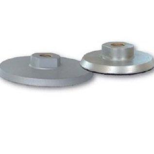 Superabrasive Aluminium schijfhouder klittenband voor handmachine 125mm -  M14