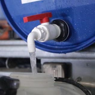 Adapter + tap 200L barrel