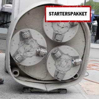 IN2-CONCRETE Actiepakket gebouchardeerd beton