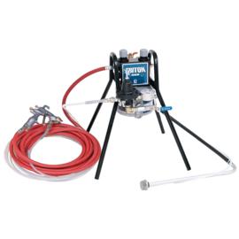 Triton HVLP Sprayer on stand-mount