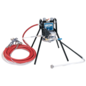 HVLP Sprayer on stand-mount