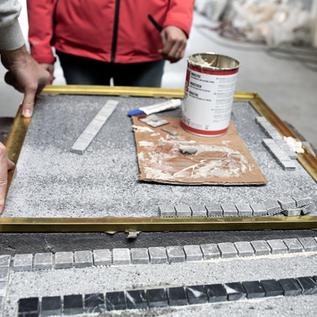 IN2-CONCRETE IN2-ACADEMY - Education installation Terrazzo - 23/10/2020(Oosterzele) - REPORTEE