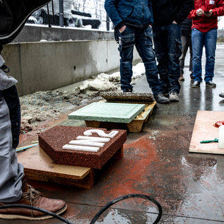IN2-CONCRETE Training Exposed aggregate concrete and stamped concrete - POSTPONED
