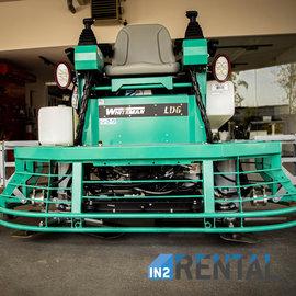 IN2-CONCRETE Rental 2 x 90 cm power trowel