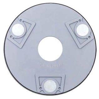 Superabrasive Magnetic V-harr rings for lavina machines