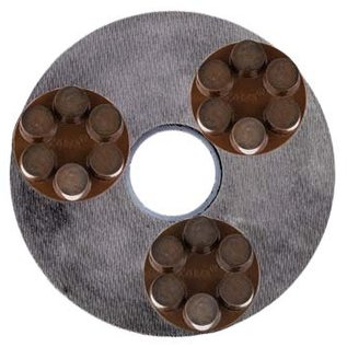 Superabrasive Magnetic corsa hybrid diamond tool rings for Lavina grinders