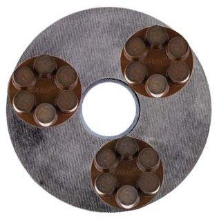 Superabrasive Magnetische corsa ringen met hybride diamant voor Lavina schuurmachines