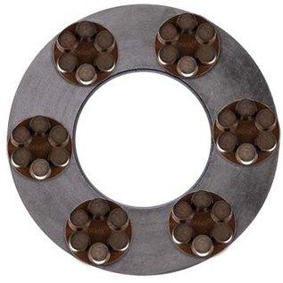 Superabrasive Anneaux magnétiques Corsa avec diamand hybride pour les machines Lavina