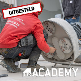IN2-CONCRETE FULL - Training Concrete Grinding and Polishing (Dutch) - 20/11/2020 (POSTPONED)