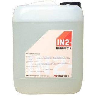 IN2-CONCRETE IN2-DENSIFY - L : Lithium densifier for concrete floors