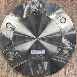 Superabrasive QuickChange Adapter platen voor SCANMASKIN machines