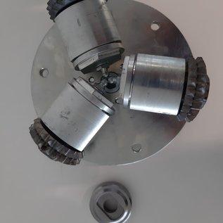 IN2-CONCRETE Bush hammer tool M14 - Système 155mm