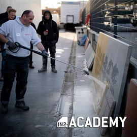 IN2-CONCRETE Training Exposed aggregate concrete and stamped concrete - 8/10/2021 (DUTCH)