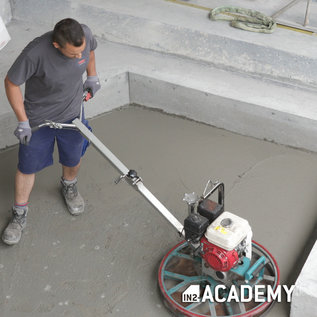IN2-CONCRETE Training troweled concrete - 22/10/2021