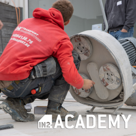 IN2-CONCRETE-ACADEMY Training Concrete Grinding and Polishing - 26/8/2021 (Dutch)