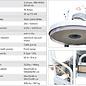 Lavina Elektrisk Golvslipmaskin Singelskiva 530mm Lavina B21