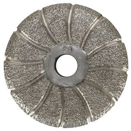 Superabrasive CEMENTINA Brazed Pads for Lippage Removal