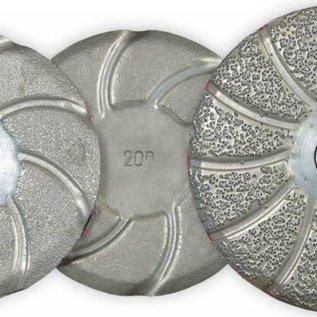 Superabrasive CEMENTINA Brazed Pads for Lippage Removal