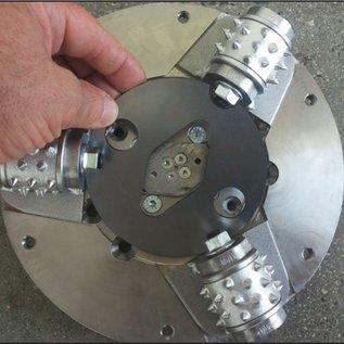 Superabrasive Superabrasive  BUSH HAMMER outils