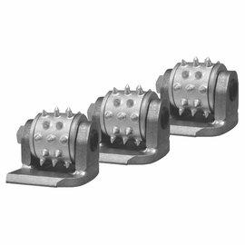 Superabrasive BUSH HAMMER quickchange tools