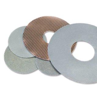 Superabrasive Flexibele electroplated pads 225mm 9inch