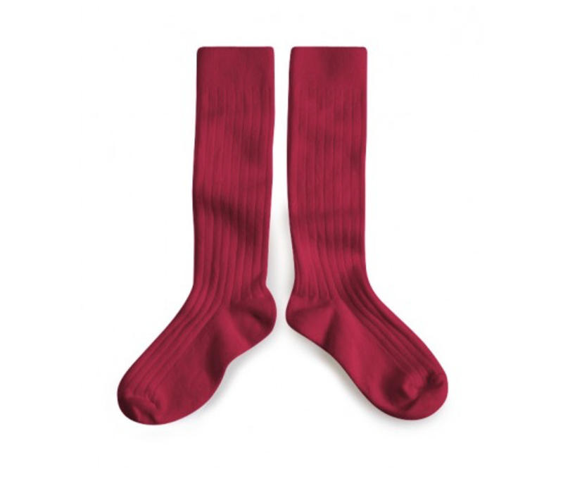 Knee socks - Marsala - Collégien