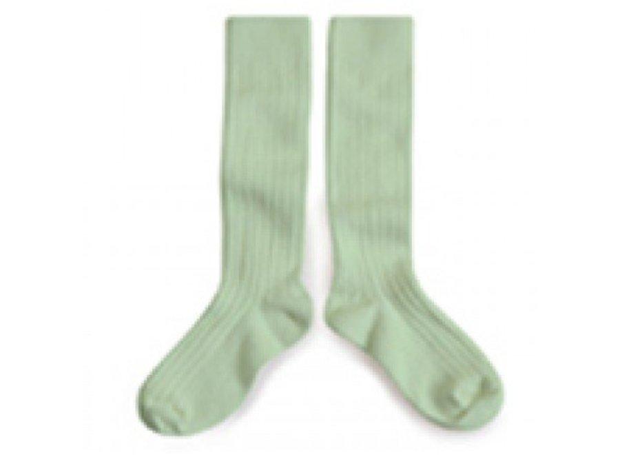 Knee socks - Tilleul - Collégien