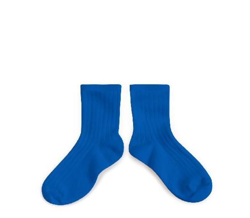 Ankle Socks - Bleu Eclatant - Collégien