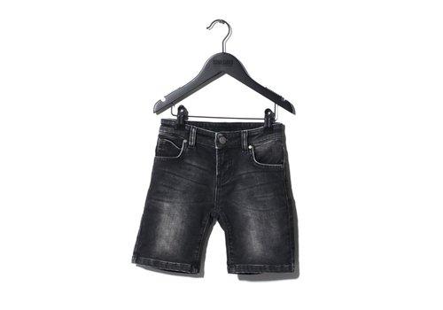 Sometime  Soon Carl Denim Shorts Washed Black