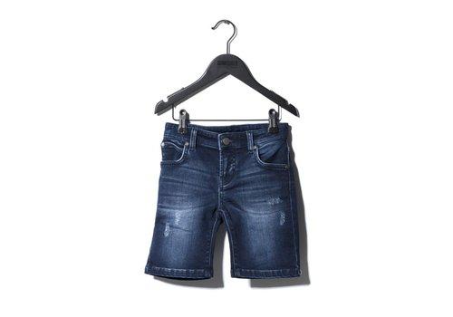 Sometime  Soon Carl Denim Shorts Blue
