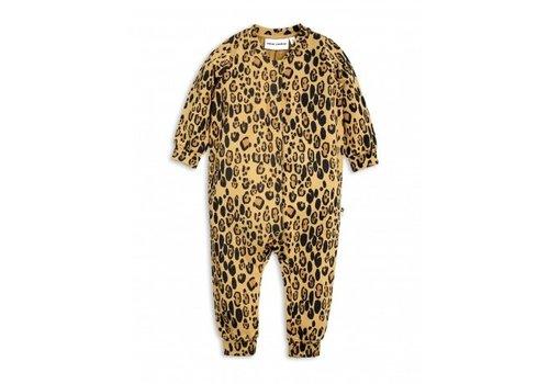 Mini Rodini Leopard Onesie Beige