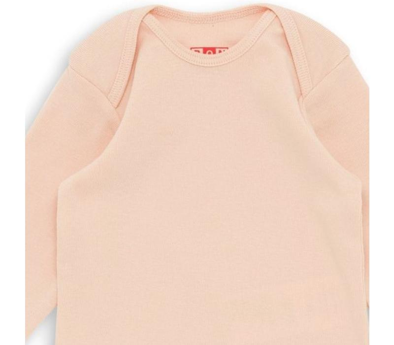 Baby Undershirt Rose Coquillage