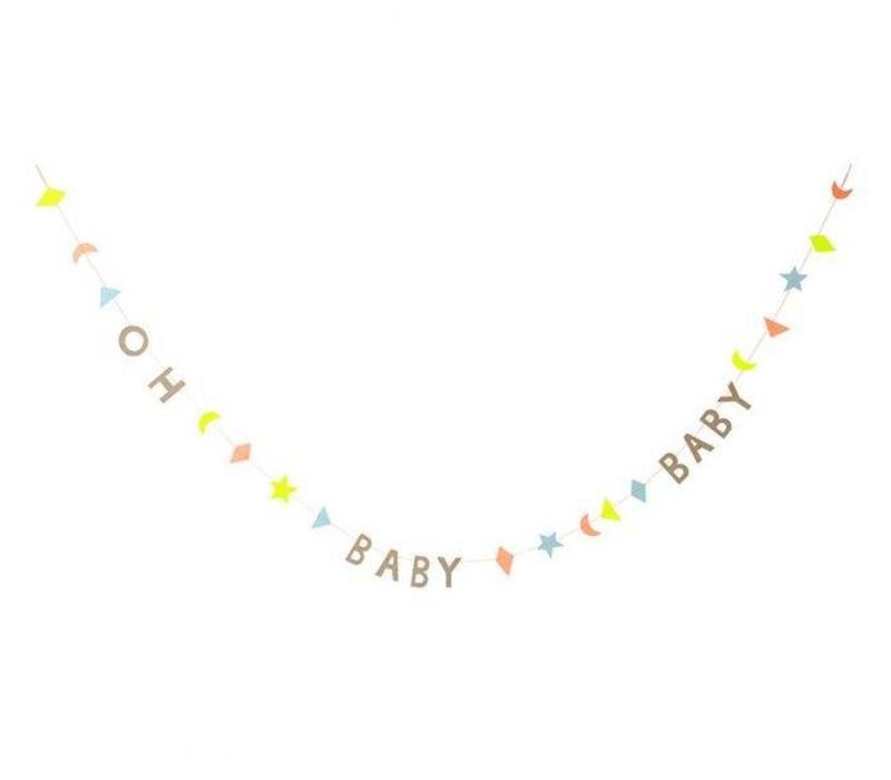 Baby mini garland