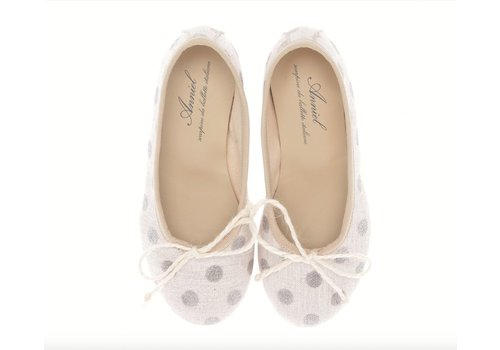 Anniel Shoes Anniel Kids Ballerina glitter dots