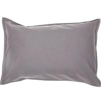Solid Colour Pillow Case - Grey