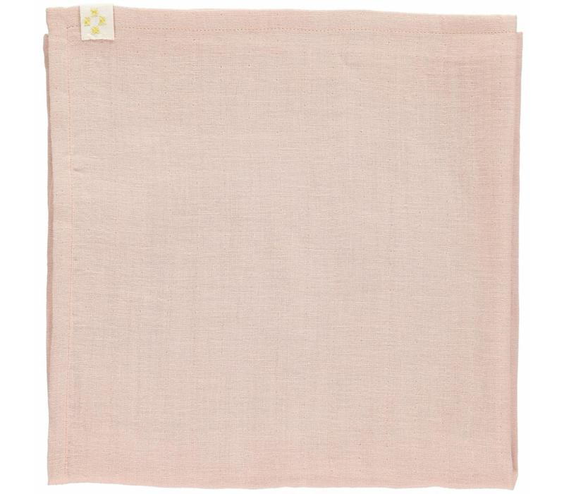 Small Soft Cotton Gauze Towels (3 In A Bag) - 3 In A Bag Golden/Pink/Wine