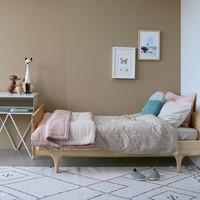 Small House Cushion In Bag - Windows Mink Teal/Aqua