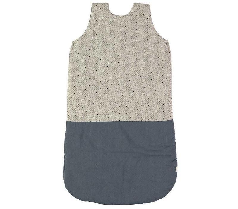 Sleeping Bag - Keiko Soft Grey/French Blue