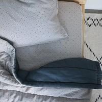 Kussensloop - Keiko Soft Grey/French Blue