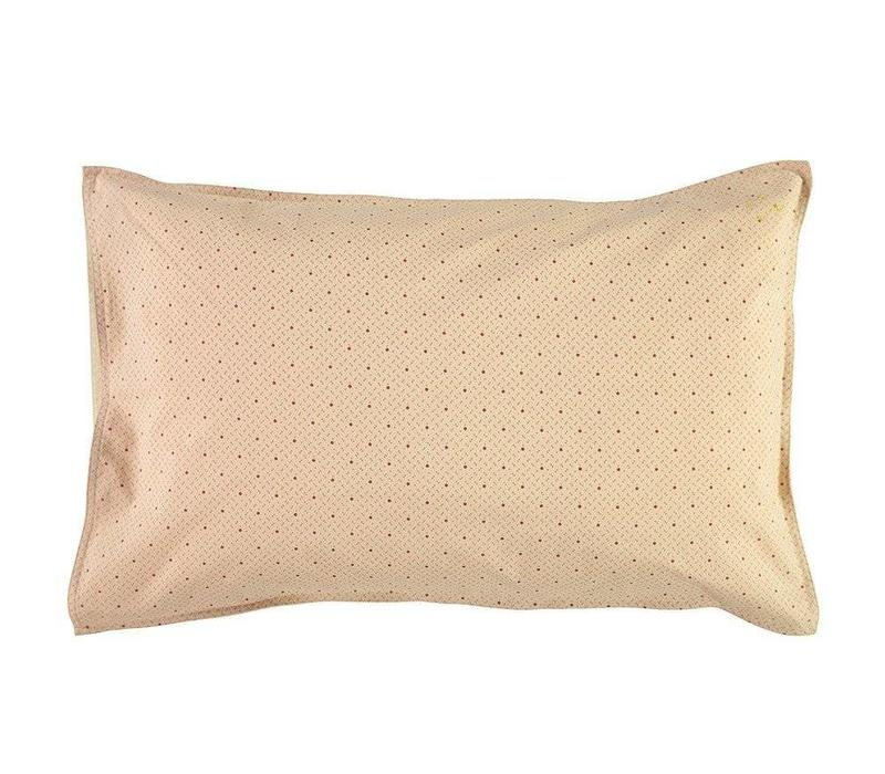 Pillow Case - Keiko Peach Puff/Rose